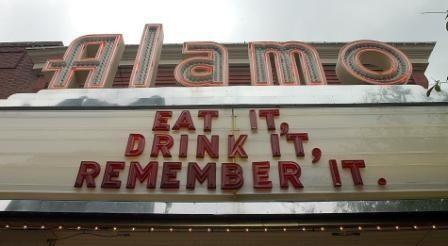 The Alamo Marquee